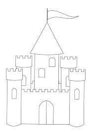 castle coloring pages sheets 2270