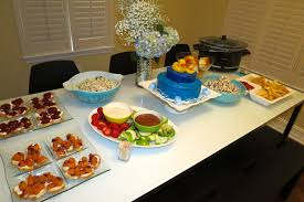 baby shower food ideas for a boy wblqual com