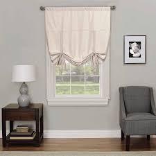 Tie Up Window Curtains Eclipse Kendall Room Darkening Window Tie Up Shade Walmart Com