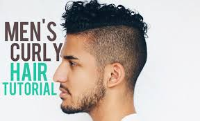 men s curly hair tutorial products mixed chicks redken