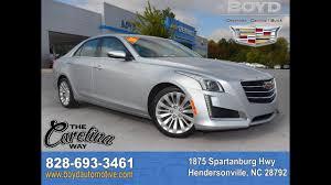 lexus hendersonville nc d16143 2015 cadillac cts luxury radiant silver metallic youtube