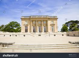 le petit trianon versailles chateau france stock photo 53508754