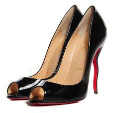 christian louboutin patent jolly b 120 pumps 38 black 95645