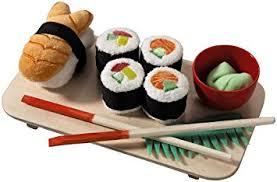 cuisine haba amazon com haba biofino sushi play food 10 set with