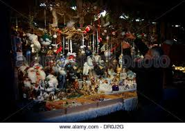 stall selling christmas decorations at the munich christmas market