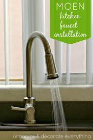 Moen Kitchen Faucets Installation Instructions by Moen Kitchen Faucet Installation Organize And Decorate Everything
