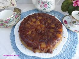 antiques and teacups promised salted caramel pineapple upside
