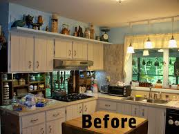gray kitchen cabinets with wood countertops ellajanegoeppinger com