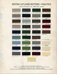 classic mini paint colours u0026 codes love mini free digital
