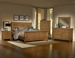 Oak Bedroom Furniture Vaughan Bassett Reflections 550 Oak Bedroom Group