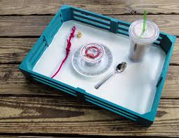 How To Make A Laptop Lap Desk by Upcycled Laptop Desk U0026 Food Tray The Eco Friendly Family