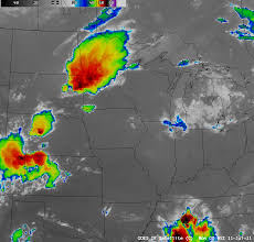 Upper Midwest Map Upper Midwest Derecho And A Seiche In Southern Lake Michigan
