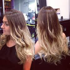 Colour Style by Ombre Color Hair Or Balyage Hair Colour With Ghd Soft Curl Hair