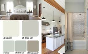 Alabaster White Kitchen Cabinets by Fixer Upper Inspired Whole House Color Schemes The Weathered Fox