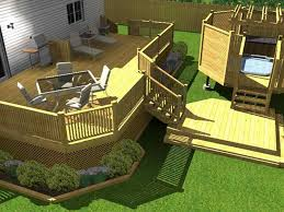 Cheap Backyard Deck Ideas Bloombety Cheap Backyard Deck Ideas With Render Cheap Backyard