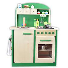kaffeemaschine kinderküche sun 4123 kinderküche grün aus stabilem holz mit kochfeld und ofen