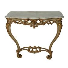 antique console tables for sale antique french serpentine painted gilded console table for sale at