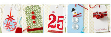 make your own christmas gift tags engaged in art classes