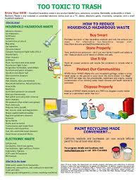 Toxicity Of Household Products by Best 25 Household Hazardous Waste Ideas On Pinterest Hazardous