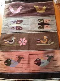 Boho Rugs Vintage Wool Tapestry Rug Boho Wall Hanging Wool Tapestry Rug