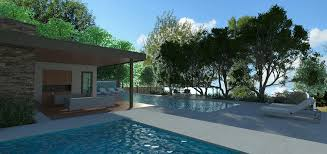 pool house u2014 line 8 design