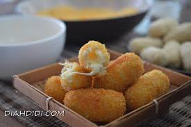 cara membuat donat kentang keju diah didi s kitchen kroket kentang isi keju mozarella