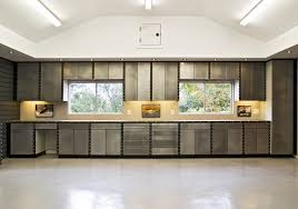 nice red and grey nuance the garage can decor with natural nice design the garage can decor with cream modern ceramics floor and