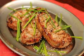 grilled honey soy pork chop recipe baconfatte com