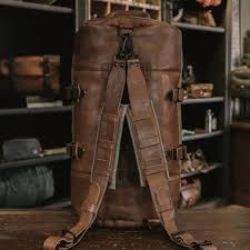 South Dakota travel shoe bags images Vintage travel bag leather canvas buffalo jackson jpg