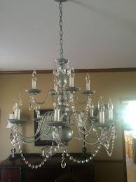 Painted Chandelier Painted Chandelier Simple Closdurocnoir