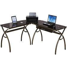 Cheap L Shaped Computer Desk Rta Products Techni Mobili L Shaped Computer Desk Chocolate