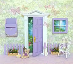 Fairy Door by Purple Opening Fairy Door With Accessories Proudly Australian
