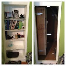 furniture home bookcase door secret door hidden closet 0009