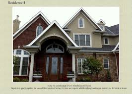 Brick Stone And Dryvit Exterior by Services Offered At C Hornberger U0026 Sons Inc