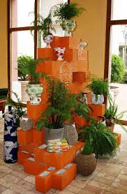 creative corner tiered indoor planter alternative using country
