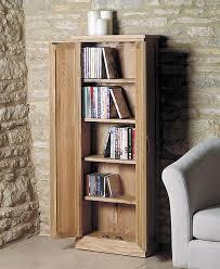 Oak Cd Storage Cabinet Enchanting Oak Dvd Storage Cabinet Wooden Cd Dvd Storage Cabinets