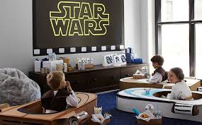 star wars bedroom decorations star wars pottery barn kids