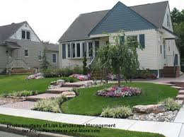 Front Porch Landscaping Ideas by Front Yard Landscape Designs With Before And After Pictures