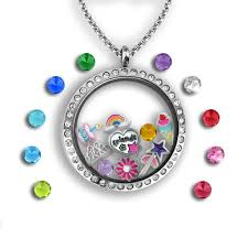 charm locket necklace images Happy birthday floating charm locket set tell me a charm jpg