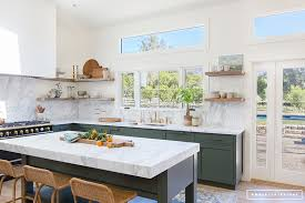 Interiors Kitchen Before After Client Oh Hi Ojai U2013 Amber Interiors