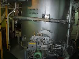 choosing a marine boiler while designing a ship