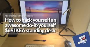 introducing the amazing u0026 affordable 69 ikea standing desk