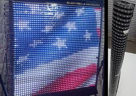 Curtain Led Display How To Make Flexible Led Panel Video Screen Diy T300k Real Time