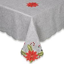 bed bath and beyond christmas table linens buy table linen round tablecloths from bed bath beyond