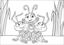 insect coloring pages free kids coloring