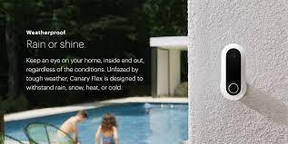 canary flex hd indoor outdoor security camera bed bath u0026 beyond