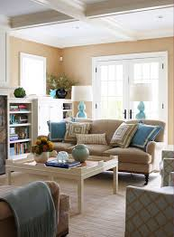 Turquoise Living Room Decor Interesting Combination Of Brown And Blue Living Rooms U2013 Blue And