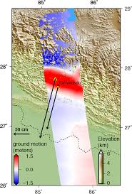 Earthquake Map Seattle by Landsat 8 Reveals Extent Of Quake Disaster In Nepal U0027s Langtang