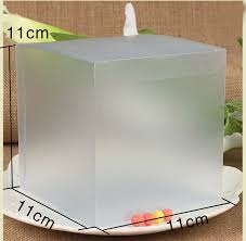 where to buy boxes for presents aliexpress buy 30pcs 11 11 11cm frosted plastic pvc box