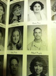 my high school yearbook my friend s went to high school with albert pujols this is
